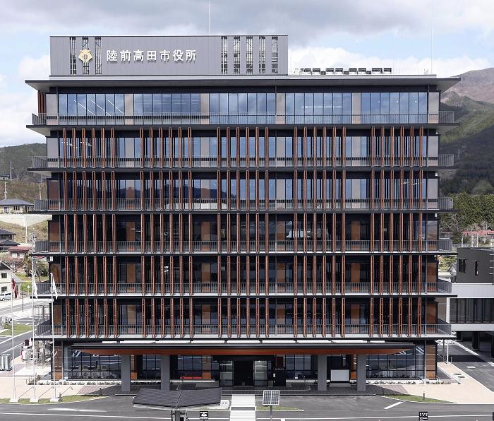 岩手・陸前高田市に完成した新庁舎のBCP対策がさすがだ!