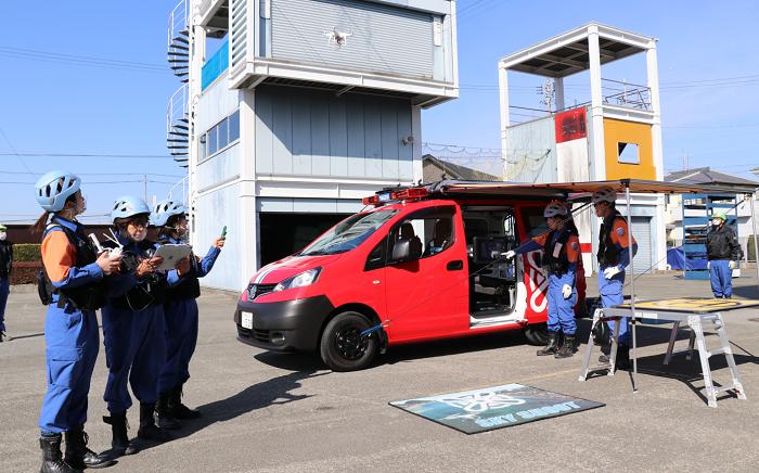 災害時のドローン活用!特注消防指揮車や自治体協定